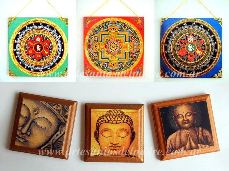 Cuadros para colgar mandalas, Buda, imagenes espirituales