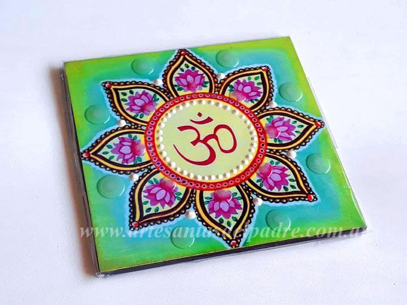 Imanes artesanales motivos espirituales
